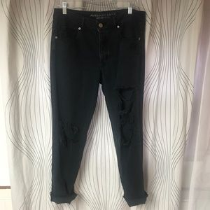 American Eagle Outfitters Jeans - American Eagle Distressed Tomgirl Boyfriend Jeans